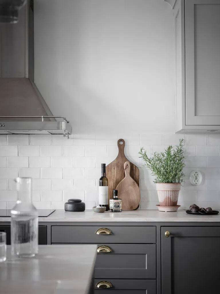 комбинирана кухня и хол